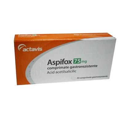 Actavis Aspifox 75mg 30 comprimate gastrorezistente