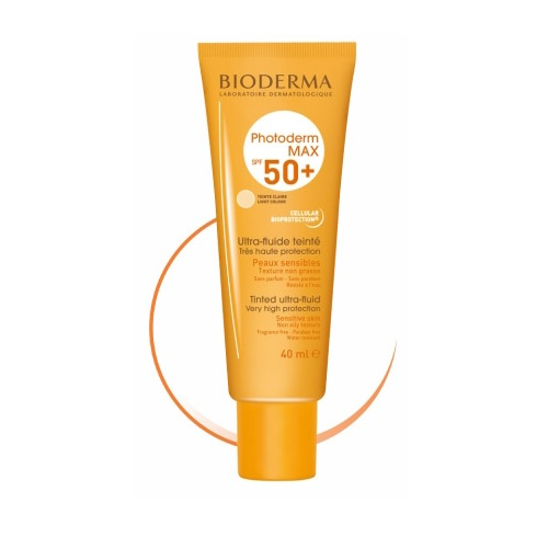 Bioderma Photoderm Max Ultra Fluid Claire SPF50+ 40ml