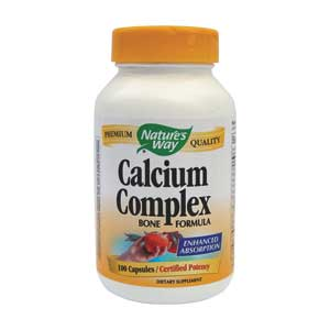 Nature's Way Calcium Complex Bone Formula 100cps