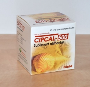 Cipcal 500 mg 150 comprimate