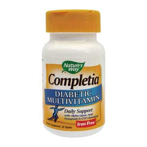 Natures Way Completia Diabetic 30TB
