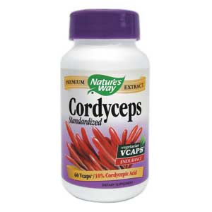 Nature's Way Cordyceps 60 CP