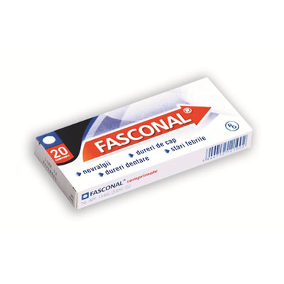 Fasconal x20 cpr
