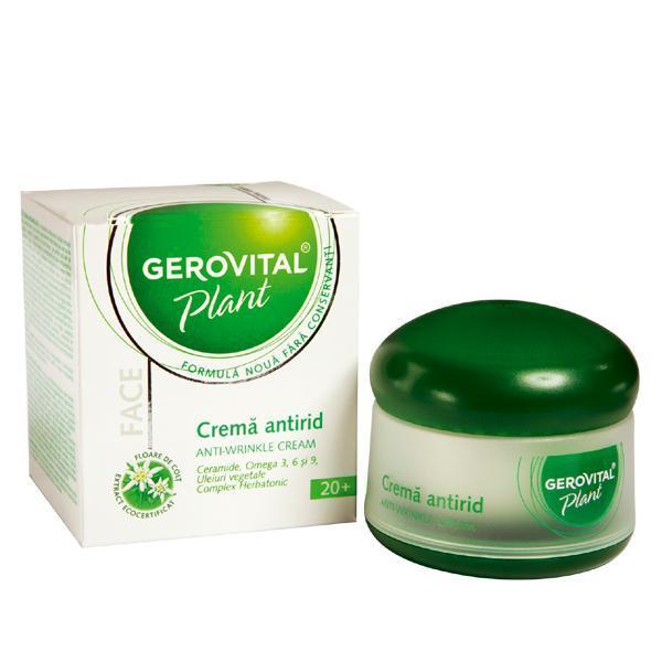 Gerovital Plant Crema antirid 50 ml