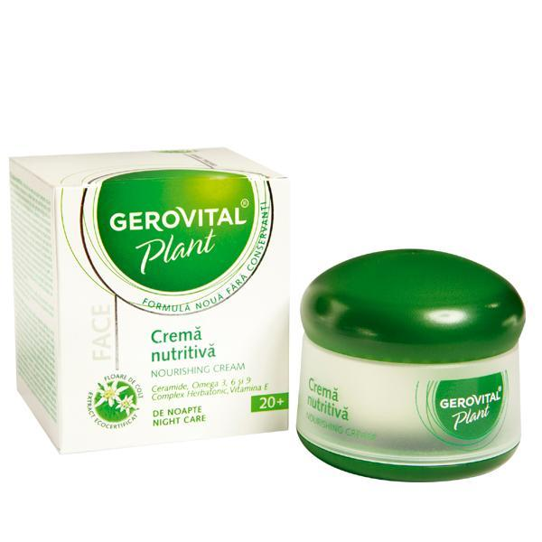 Gerovital Plant Crema nutritiva 50 ml