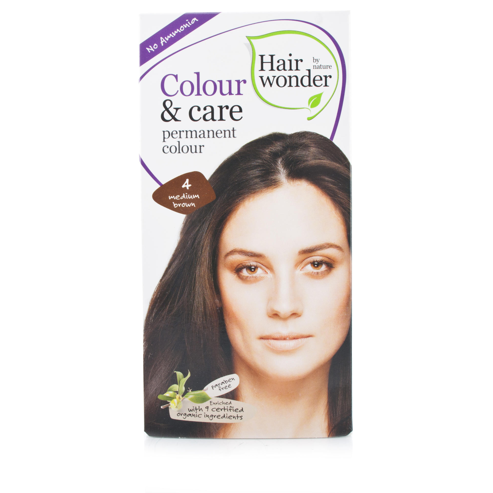 Colour & Care Medium Brown 4