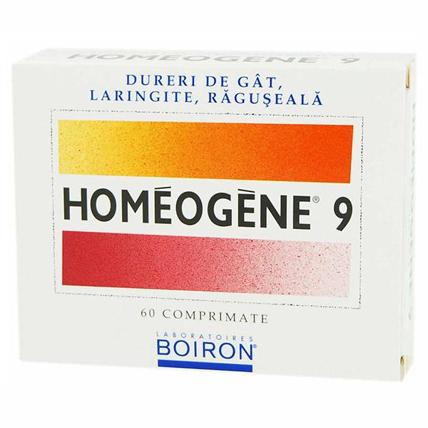 Homeogene 60 comprimate
