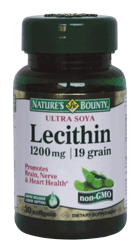 Natures Bounty Lecitina 1200mg 30 cps.