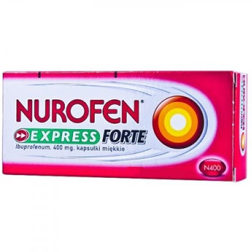 Nurofen Express Forte 400mg 10cps