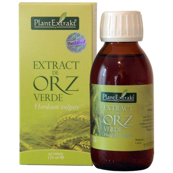 PlantExtract Extract de orz verde 120 ml