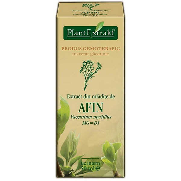 PlantExtract Extract din mladite de afin 50 ml