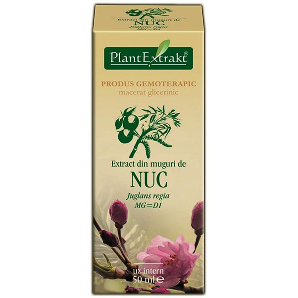 PlantExtract Extract din muguri de nuc 50 ml
