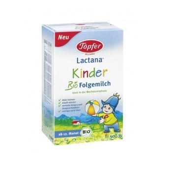 Topfer Kinder lapte praf organic Follow-on Milk 12+ 500 g