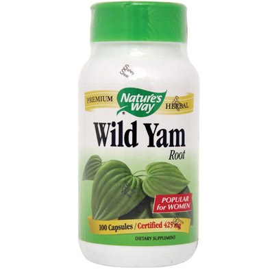 Natures Way Wild Yam 100cps