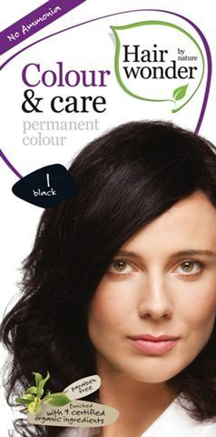 COLOUR & CARE – VOPSEA PERMANENTA FARA AMONIAC - 1 BLACK