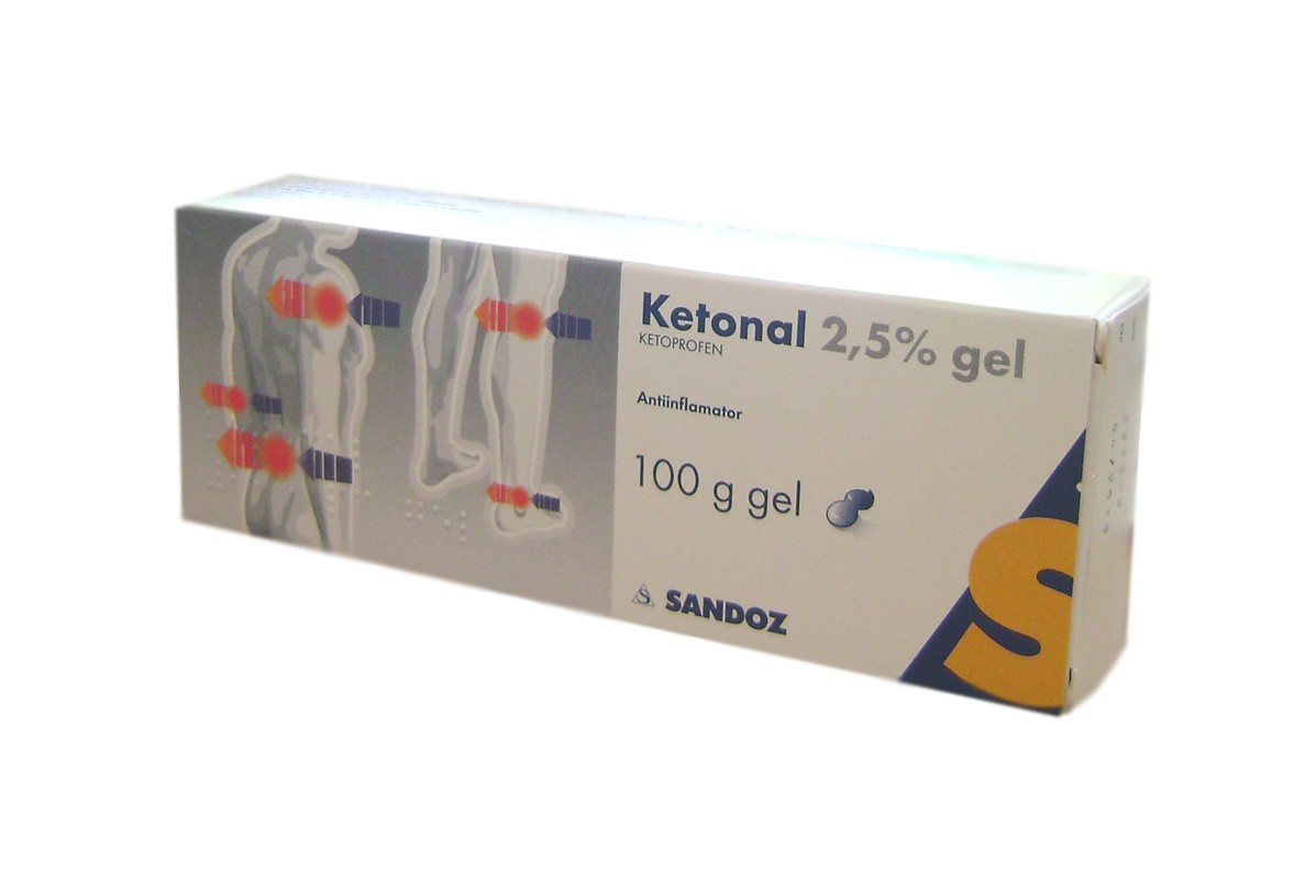 Ketonal 25mg/g gel*50g